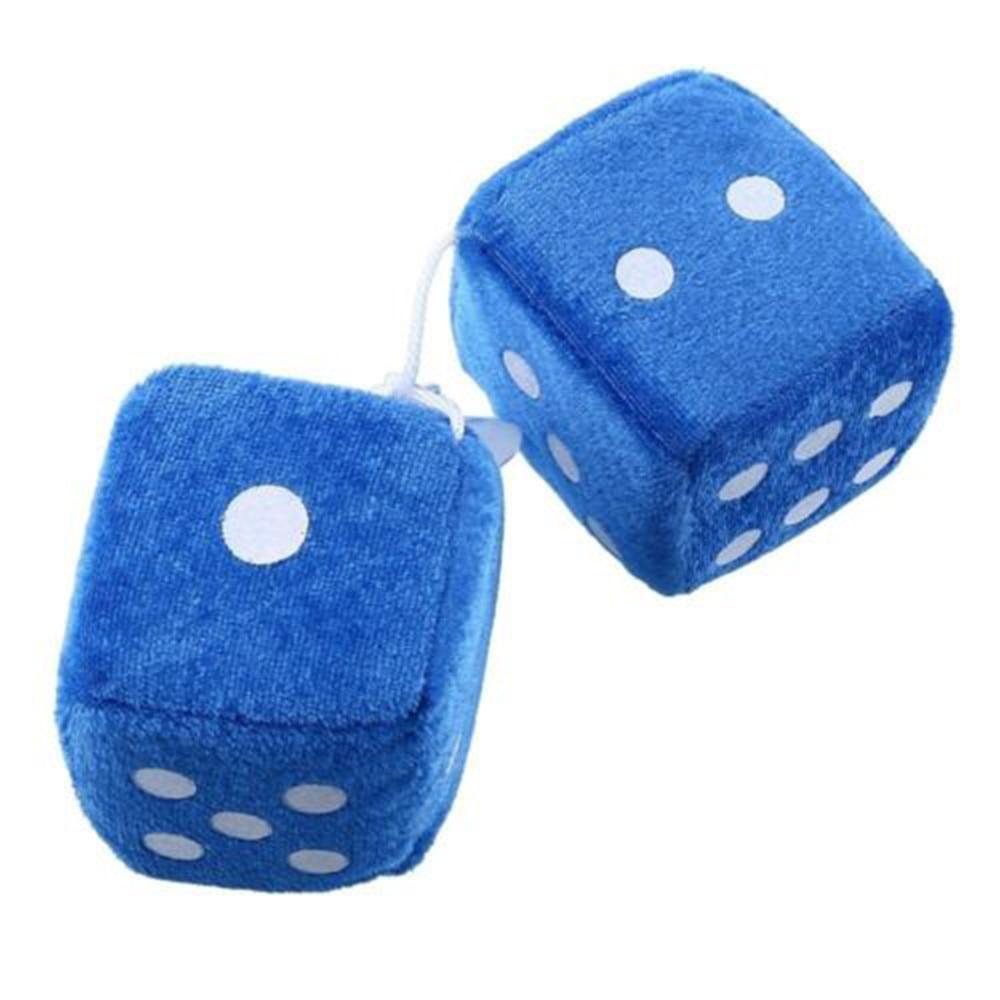 1 шт. автомобиль подвеска красочные плюшевые кости автомобилей подвески на зеркало заднего вида подвесная подвеска украшения - Название цвета: blue