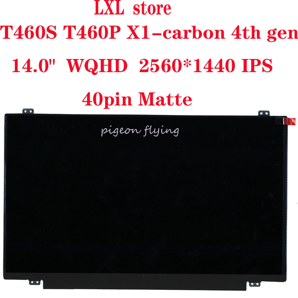 T460S T460P X1-carbon 4th Gen LCD Screen For Thinkpad Laptop 14.0