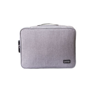 Image 3 - Borsa per documenti con Password cartella grande borsa da viaggio per uomo borsa da viaggio impermeabile borse da ufficio multiuso