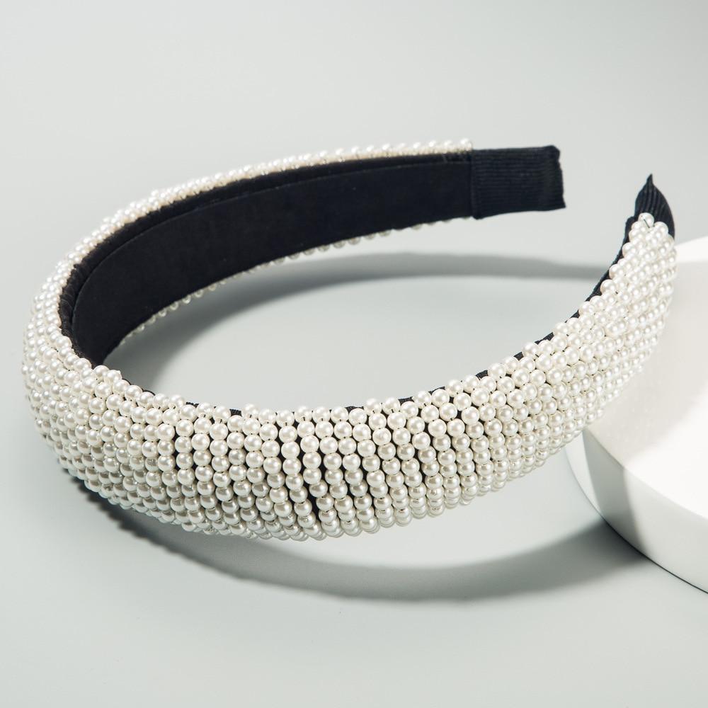 Rhinestone velvet headband European fashion-Wide headband-Wedding-Princess Headband-Classy-Luxury-Fashion tiara-Dark blue headband-2020