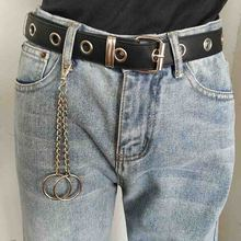 Pants Chain Trendy Unisex Silver Metal Punk Hip-hop Wallet Chains Trousers Keychain