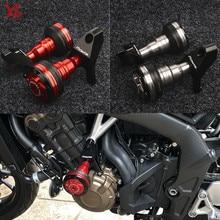 Nouveau Flash offres moto CNC Crash patins cadre curseur protecteur sadapte pour Honda CB 650F CBR 650F 650R CB650F 2014 2018