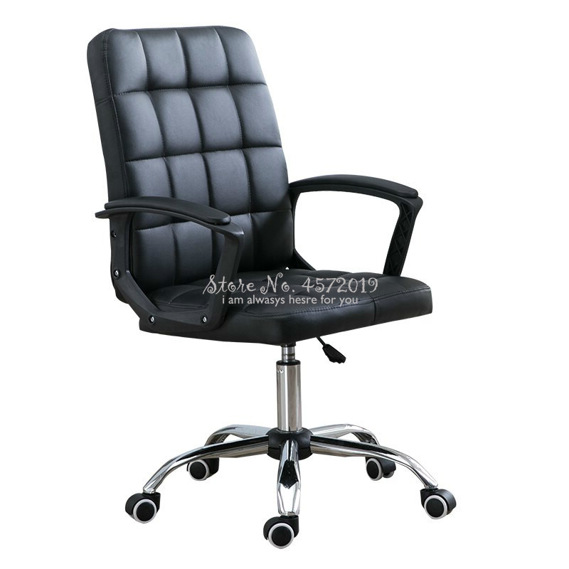 New Computer Chair Home  Office Swivel Simple Student Game Dormitory Mahjong Chair With Backrest Desk Chair