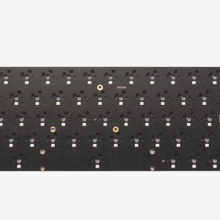 Kbdfans dz60 rgb v2 quente swap pcb 60 ansi layout poker teclado mecânico pcb qmk