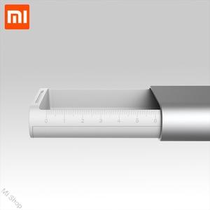 Image 2 - חדש Xiaomi Mijia Miiiw קלמר משרד תלמיד עיפרון מקרי ציוד לבית ספר עט תיבת אלומיניום סגסוגת ABS + PC עבור אפל עיפרון 2