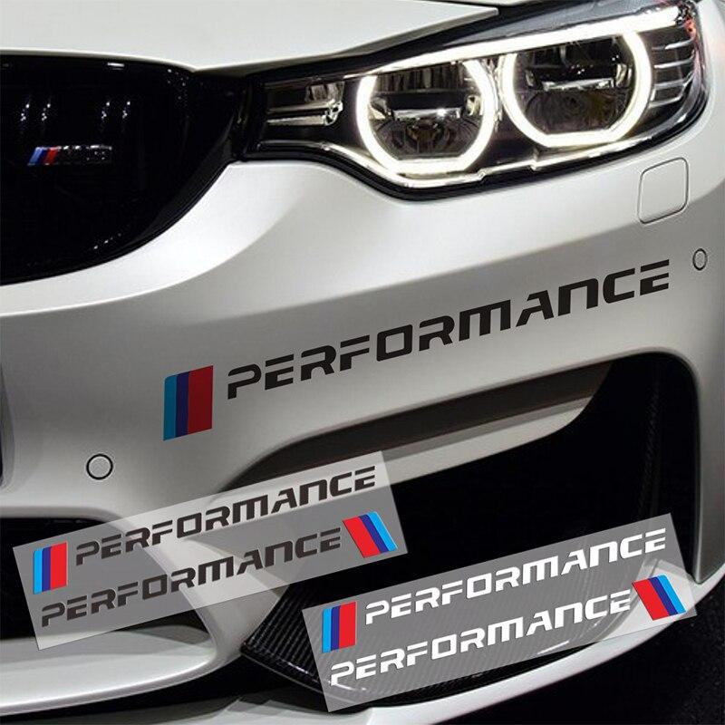 Автомобильные наклейки для Bmws M X1 X3 X4 X5 X6 X7 E46 E90 F20 E60 E39 F30, 2 шт.