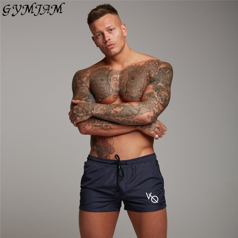 Quick-drying Men's Casual Shorts Jogger Beach Casual Pants 2019 Summer Outdoor Fashion Brand Men's Shorts