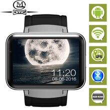 Android bluetooth wifi gps relógio inteligente smartband mini telefone móvel smartwatch rastreador de fitness mtk6752 4 gb rom 3g smartphone