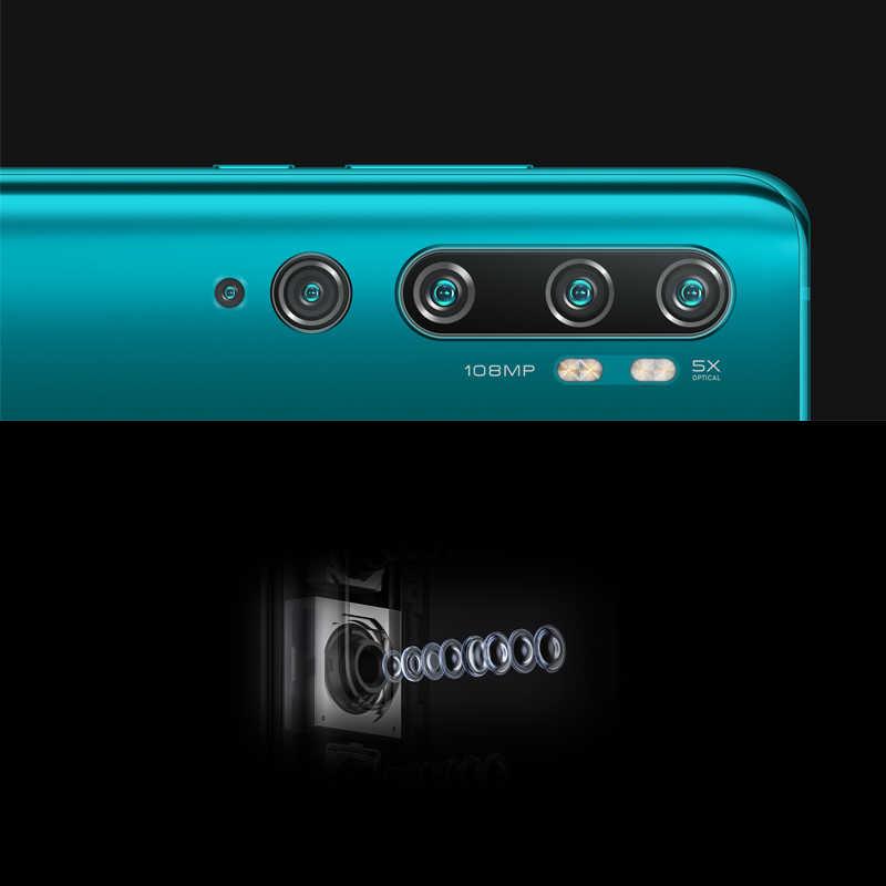 هاتف ذكي شاومي mi CC9 Pro بذاكرة وصول عشوائي 6 جيجا بايت وذاكرة قراءة فقط 128 جيجا بايت سنابدراجون 730 جيجا بايت وكاميرا بنتا بدقة 108ميغا بيكسل وشاشة منحنية 6.47 بوصة AMOLED 5260mAh