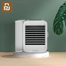 Newest Xiaomi Microhoo 3 In 1 Mini Air Conditioner Water Cooling Fan Touch Screen Timing Artic Cooler Humidifier Desktop Fan