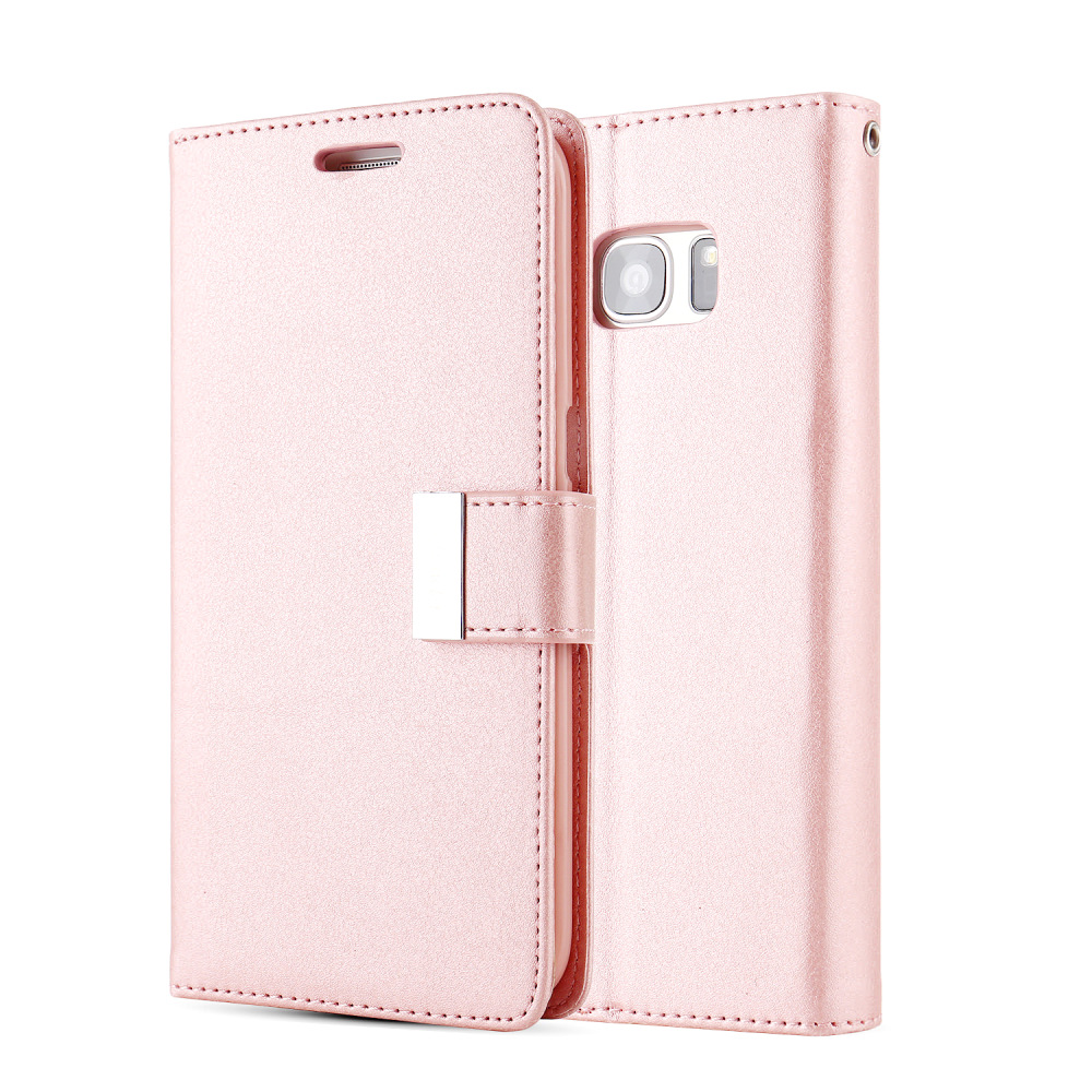 Wallet Phone Case For Samsung Galaxy S10 S10E S9 S8 Plus Flip Stand Leather Case For Samsung S7 S6 Edge S5 Neo Fundas
