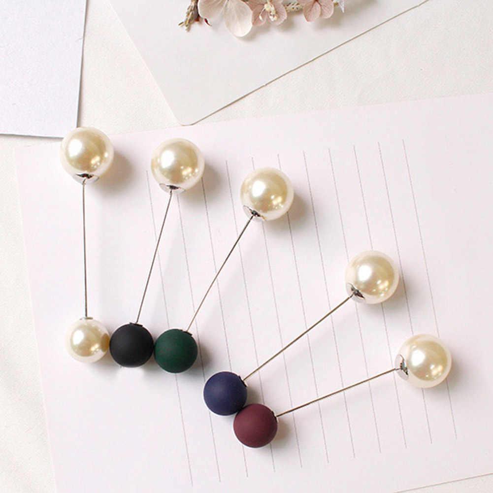 女性のファッションブローチセット真珠のブローチピンバッジセーターコート装飾ブローチ女性のための