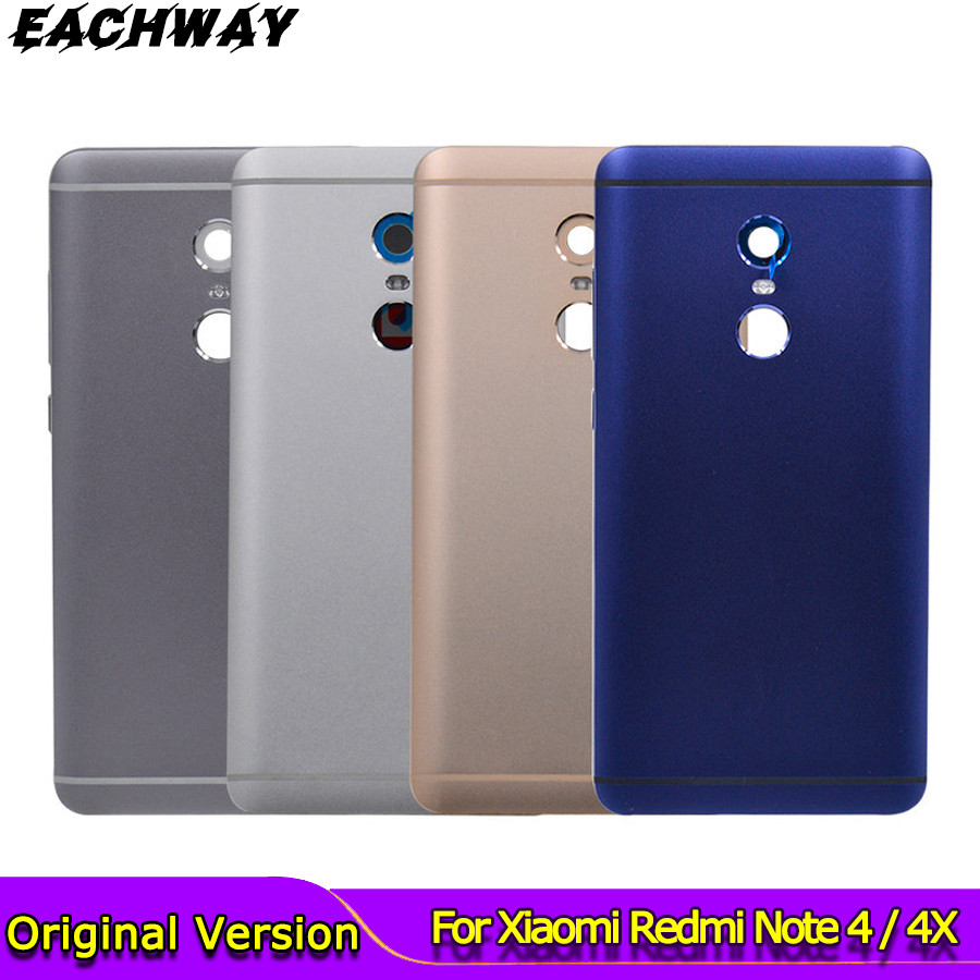 <font><b>Note</b></font> 4 / <font><b>4X</b></font> Battery <font><b>Back</b></font> <font><b>Cover</b></font> For <font><b>Xiaomi</b></font> <font><b>Redmi</b></font> <font><b>Redmi</b></font> <font><b>Note</b></font> <font><b>4X</b></font> Battery <font><b>Back</b></font> Case Note4 Global Version Housing Volume buttons 4 X image