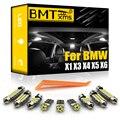 BMTxms для BMW X1, E84, X3, E83, F25, X5, E53, E70, X6, E71 2000-2015, Автомобильный светодиодный интерьер, карта, купол, светильник жник, Canbus, автомобильные аксессуары