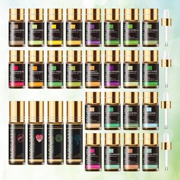 28pcs Pure Natural Essential Oils Gift Set Massage Shower Diffuser Aroma Oil Lavender Vanilla Sage Jasmine Rose Stress Relief 2