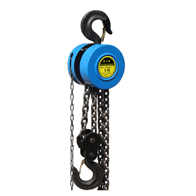 Hsz Cable Hand Control Pulley 500kg Pulley Chain Block Chain Hoist Polipasto Crane 2.5m Manual Block Lift Pulley Lifting