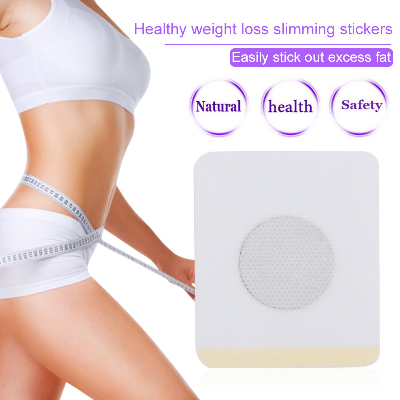 Slim Sticker Chinese Medicine Weight Loss Navel Sticker Magnetic Slim Detox Adhesive Sheet Fat Burning Slimming Diet Patch