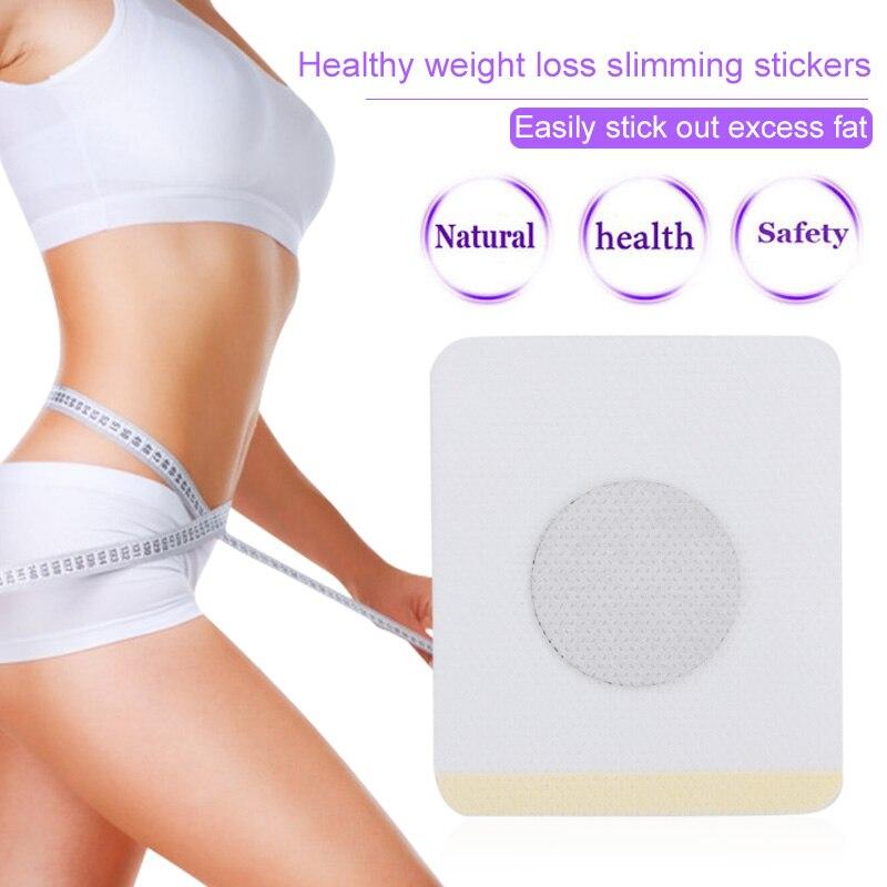 Slim Sticker Chinese Medicine Weight Loss Navel Sticker Magnetic Slim Detox Adhesive Sheet Fat Burning Slimming Diet Patch