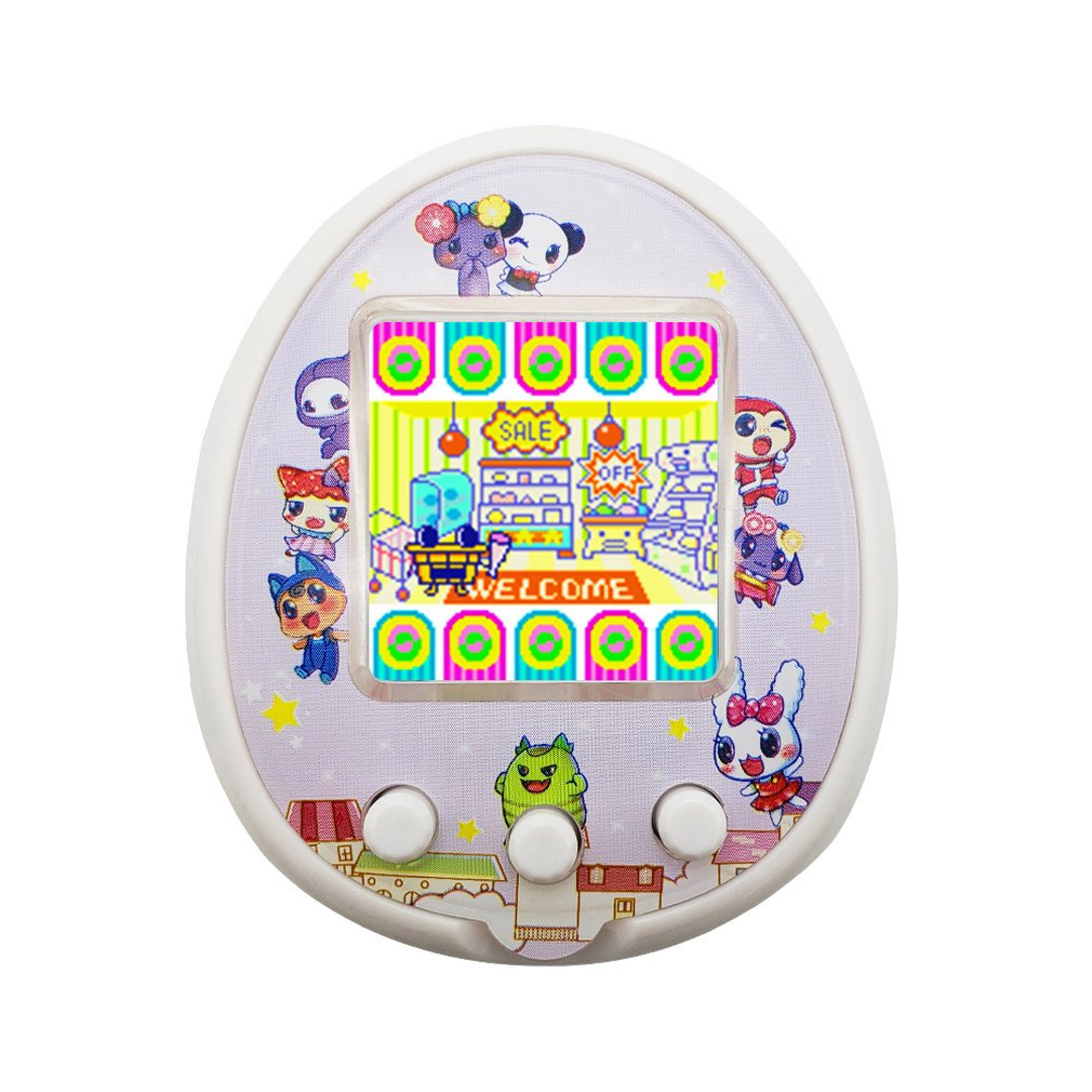 For Qpet Plastic Non-Extended Singer Pet Egg 2020 Pet Game Machine Color Screen Electronic Pet Machine