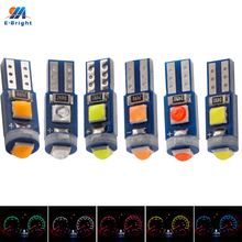 YM E Bright 10X T3 3030 3 SMD 12V Dashboard Warning Light Instrument Interior Light White Red Blue Green Yellow Pink Ice Blue