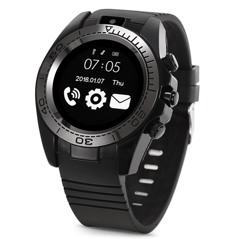 KY-sw007 Smart Watch Clock Phone <font><b>Smartwatch</b></font> Men SIM Card Bluetooth Adult Outdoor Smart Watch with Camera image