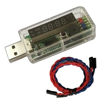 WiFi USB Watchdog Mobile Remote Watchdog Card LED Screen Automatic Loop Operation for Bitcoin BTC Miner