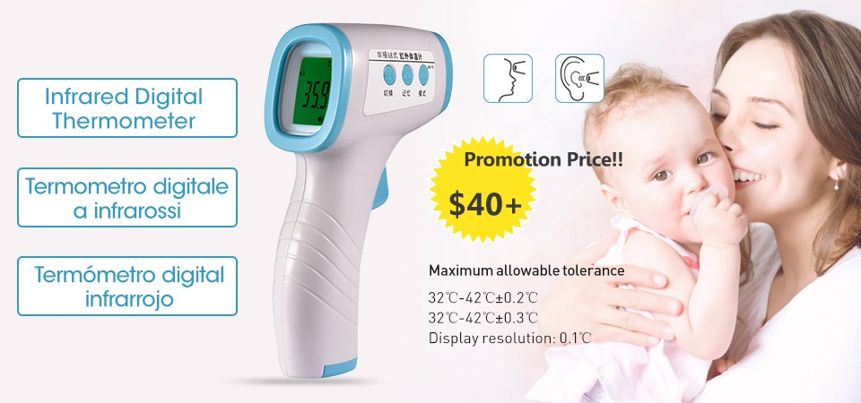 Ohomr Digital Thermometer Cartoon Animal Soft Baby Thermometer Baby Childrens Electronic Thermometer Baby Toys Gifts