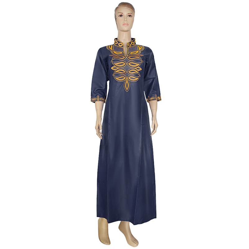 MD 2020 New Arrival African Clothes For Women Embroidery Long Dresses Traditional African Dress Wedding Party Lady's Clothing