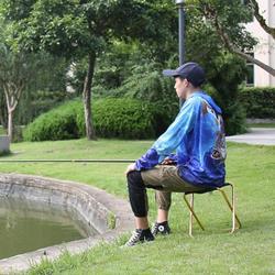 Przenośna nowa jakość na zewnątrz składane krzesło wędkarskie bardzo lekka składana Camping piknik krzesło wędkarskie ze stopu aluminium z
