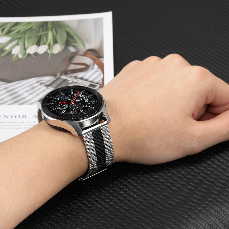 Galaxy Relógio Milanese 46mm 42 milímetros Quick