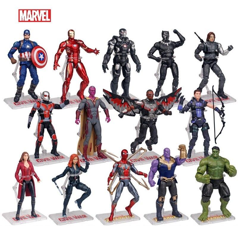 Disney Marvel Super héros Avengers Endgame Iron Man Hulk Captain America Spider-Man figurine modèle poupées jouets enfants cadeaux