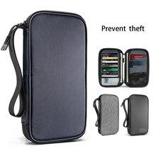 Neue Reisepass Reise Brieftasche Pass Halter Multi Funktion Kreditkarte Paket ID Dokument Multi Karte Lagerung Pack Kupplung