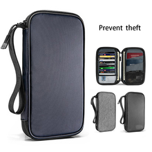 New Passport Travel Wallet Passport Holder Multi Function Credit Card Package ID Document Multi Card Storage Pack Clutch