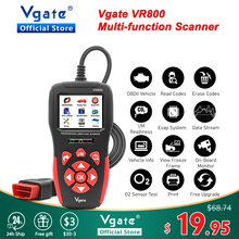 Vgate VR800 OBD2 סורק רכב אבחון אוטומטי סורק קוד Reader סריקה רכב עם רוסית OBD 2 PK AS500 ELM 327 V 1 5