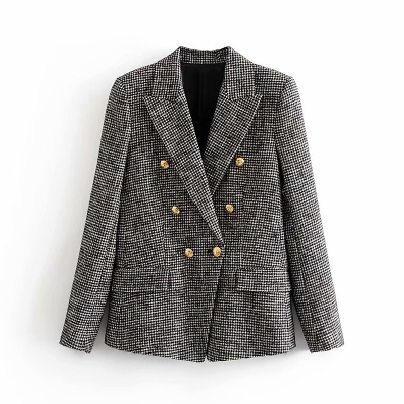 SALE Houndstooth Jacket Women