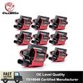 4000035124614 - Paquete de 8 bobinas cuadradas de encendido Carbole UF271 para Chevrolet Express 1500 2500 3500 para GMC para Workhorse 1999-2007 UF-271