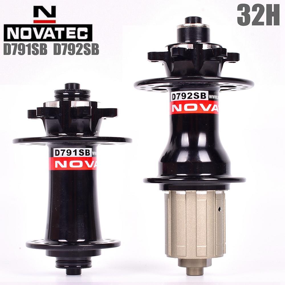 Novatec D791SB D792SB 2019 Baru Gunung Sepeda Disc Hub Novatec untuk D711SB D712SB atau D771SB D772SB 8 9 10 11 kecepatan 32 Lubang