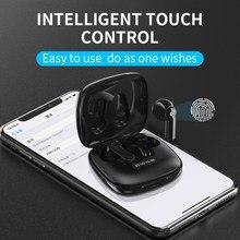 X31 bluetooth 5.0 fones de ouvido sem fio controle toque com caso carregamento ipx5 à prova dwireless água esportes estéreo