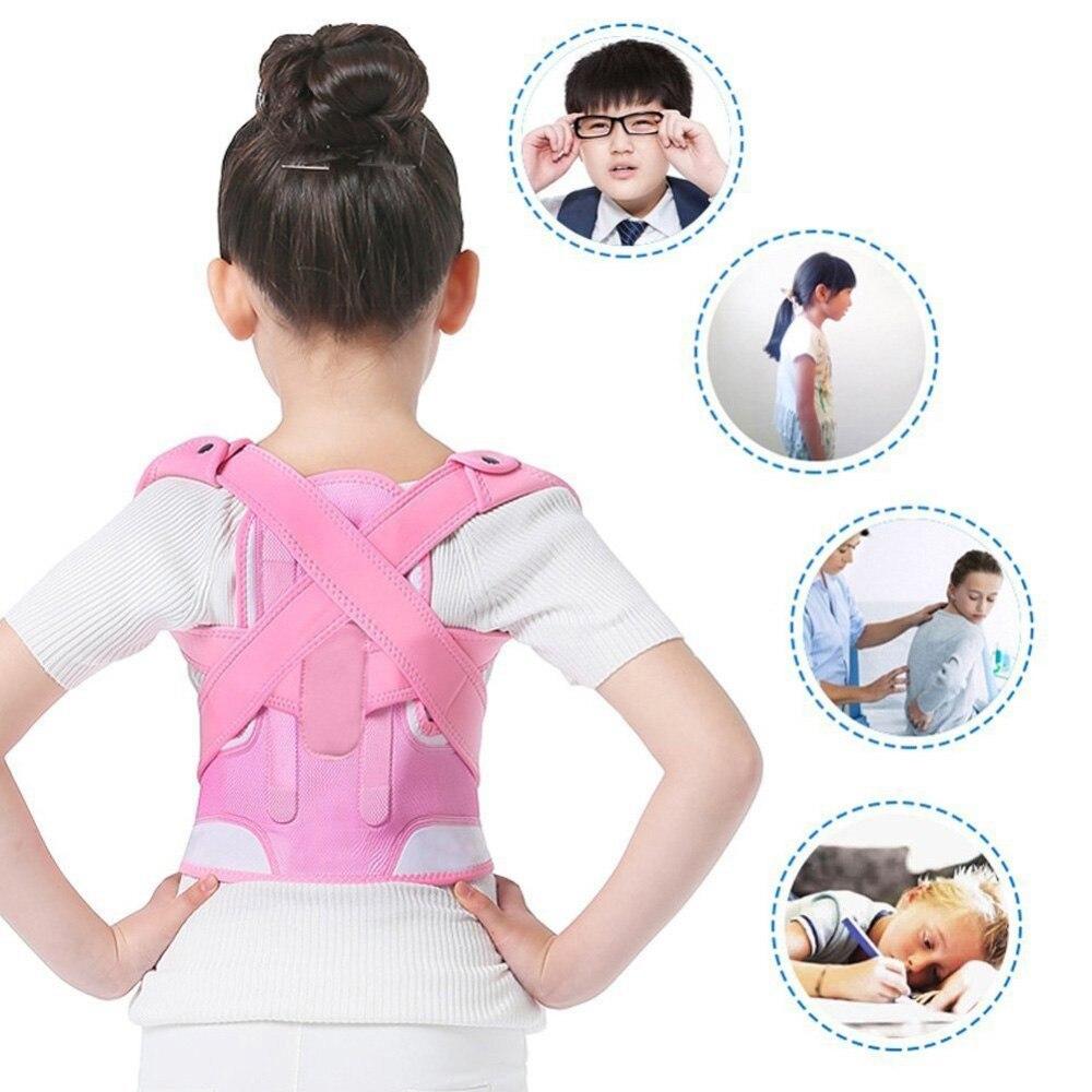 Adjustable Children Posture Corrector Back Support Belt Kids Orthopedic Corset For Kids Spine Back Lumbar Shoulder Braces Health