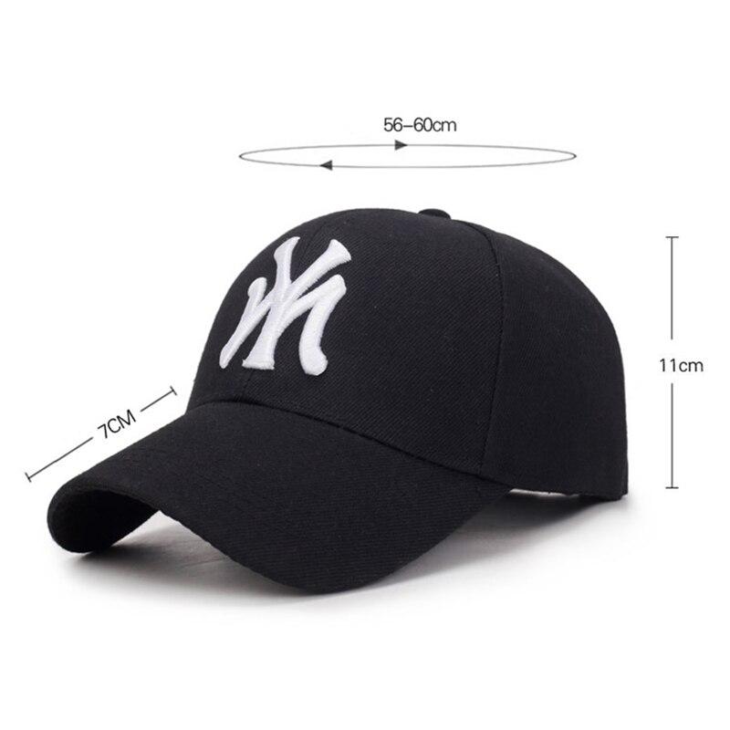 Berretto da Baseball per Sport all'aria aperta primavera ed estate lettere di moda ricamato regolabile uomo donna berretti moda cappello Hip Hop TG0002 6
