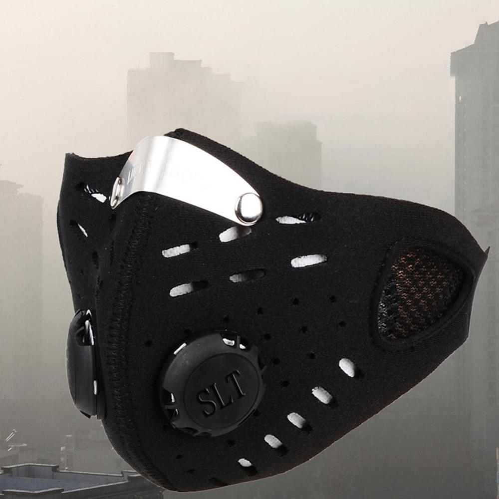 Hot Sale Mask Cycling Dust Mesh Mask Activated Carbon Filter Dust Odor Mask Anti-fog Electric Mask Face Dust Gas Mask