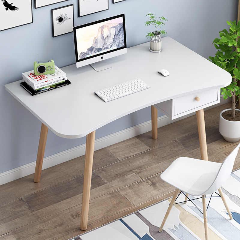 Computer desk study table Nordic office desk Modern Europe ...