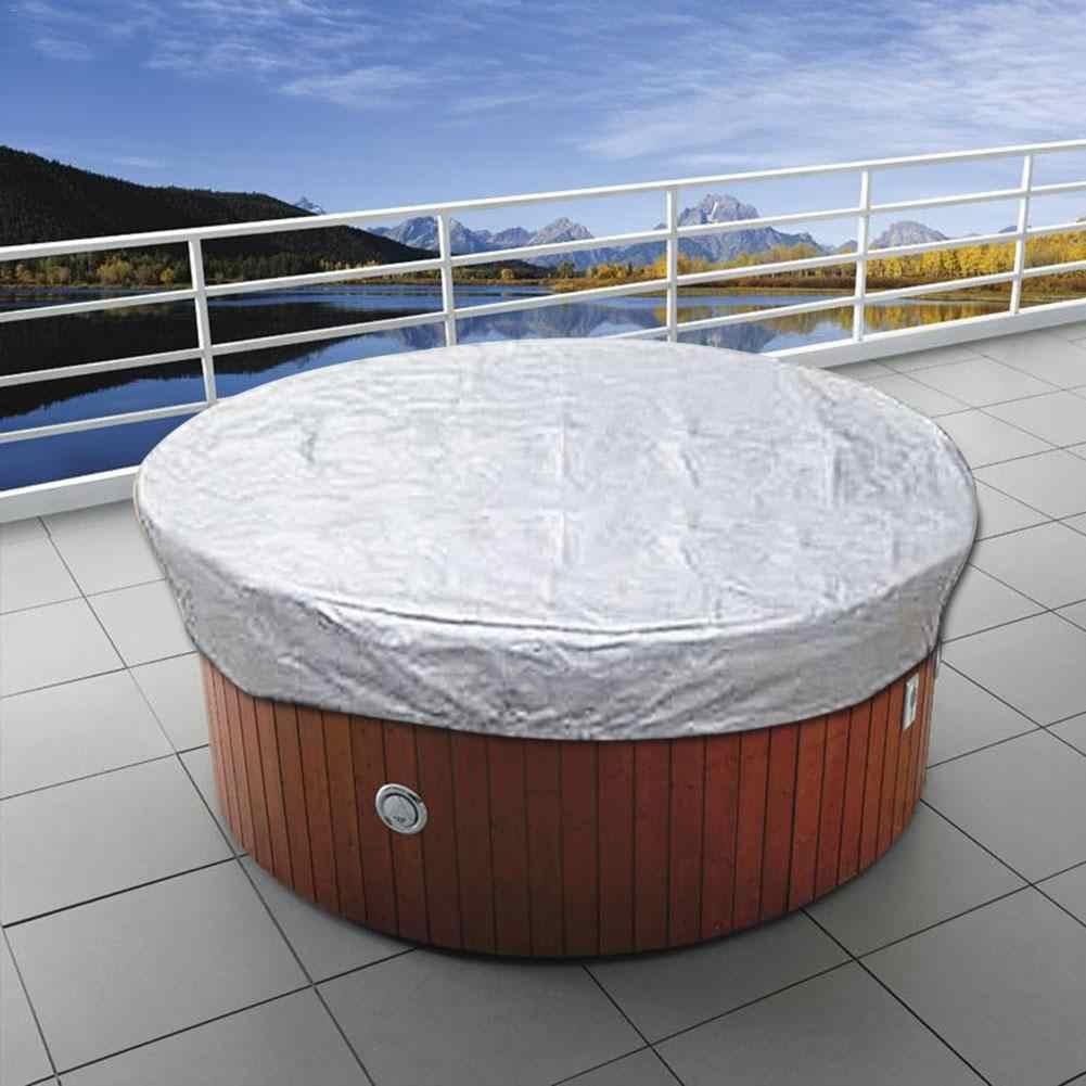Plateado Cubierta de aire acondicionado para aparatos de exterior protecci/ón solar de CA para aparatos el/éctricos grandes al aire libre l/ámina de aluminio ajustable Vosarea