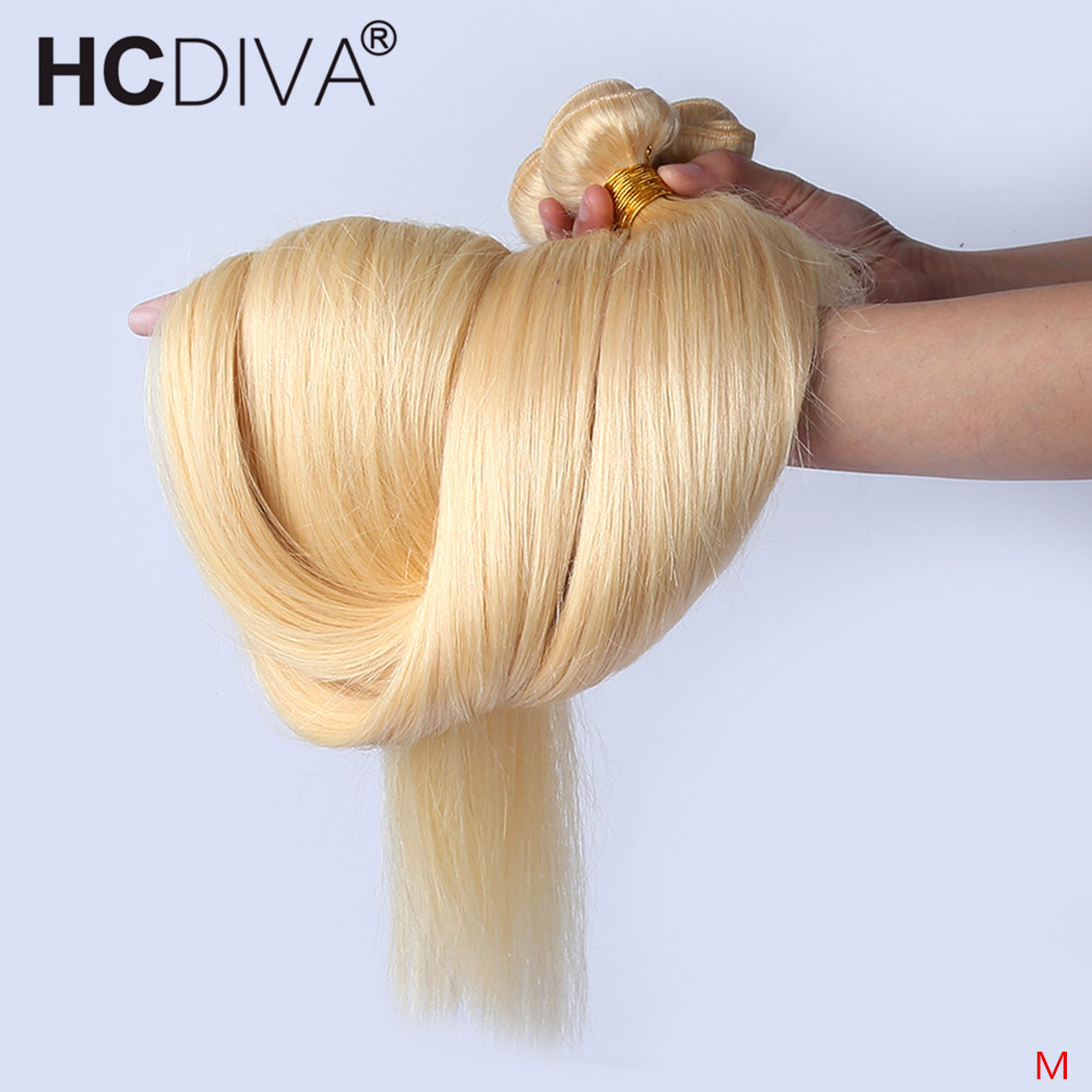 613 Blonde Hair Bundles 28 30 Inch Bundles 1/3/4 Pcs Straight Hair Bundles Brazilian Remy Hair Extension 100% Human Hair Bundles
