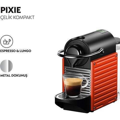 Nespresso C61 Pixie Coffee Machine 2