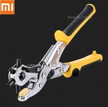 آلة تثقيب احترافية للحزام الجلدي بـ 6 فتحات ، آلة تثقيب احترافية