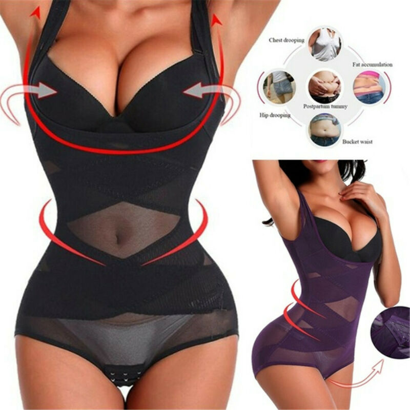 Meihuida High Quality Women Firm Control Body Shape Waist Trainer Underbust Corset Cincher Shapewear