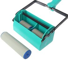 Double Color Wall Decoration Paint Painting Machine For 7 Inch Roller Brush Tool