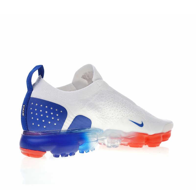 Оригинальный Nike Оригинальные кроссовки Air VaporMax мс 2 Для мужчин бега уличная спортивная обувь кроссовки дизайнер 2018 Новое поступление AH7006-100