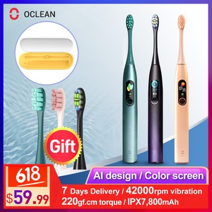 Image 1 - Oclean X Pro Sonic Electric Toothbrush Adult Waterproof Ultrasonic automatic Fast Charging Tooth Brush With Travel Box